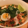 Thumbnail image for David Thompson's Thai laksa with beef and dried prawns