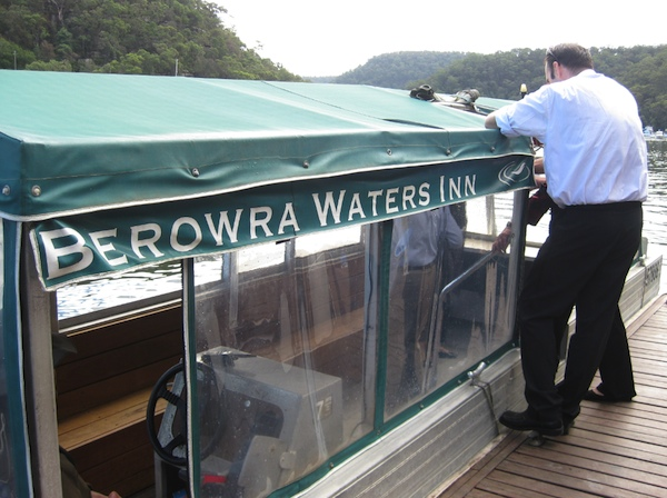 Berowra Waters Inn ferry