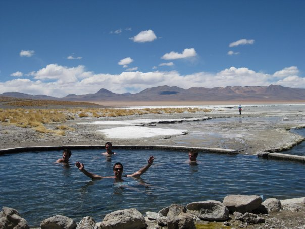 Polque hot springs, Bolivia