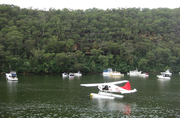 Berowra Waters Inn view