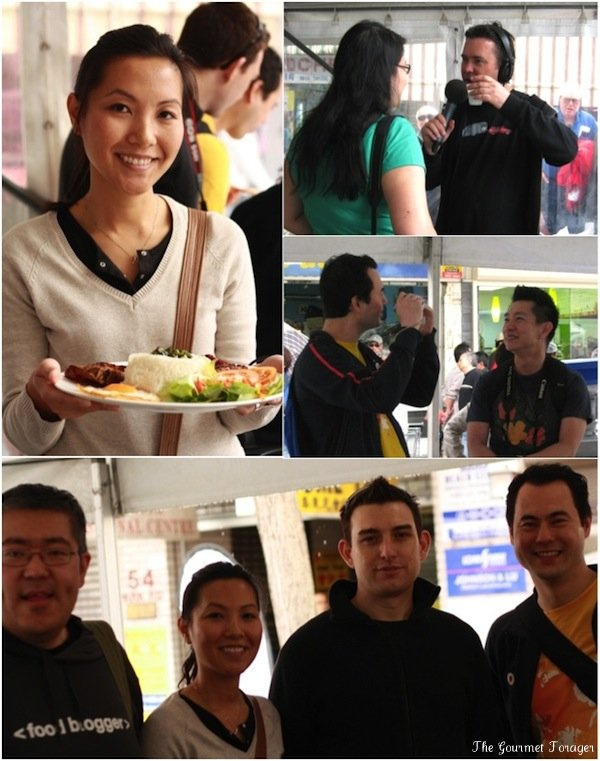 A food blogger gathering at Cabramatta