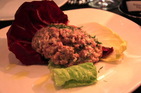 Steak tartare Rockpol bar and grill
