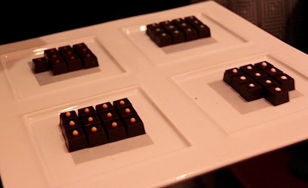 Chocolates peanut butter lemon verbena Daniel New York