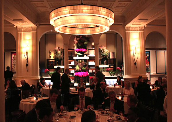 The stunning dining room at Daniel New York