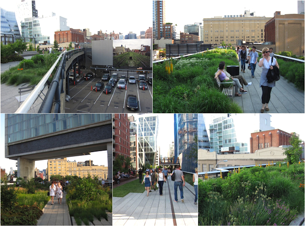 The High Line, New York, 30 feet in the air