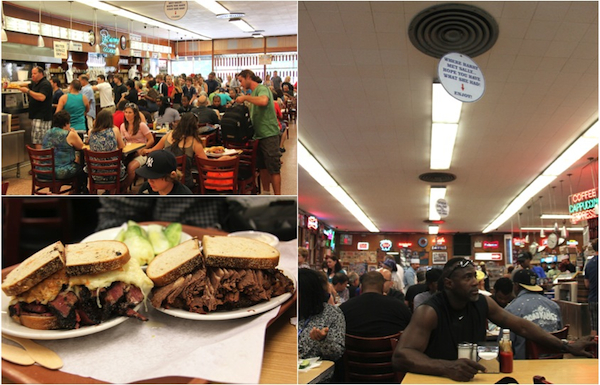 Katz's Deli, where Harry met Sally, pastrami on rye