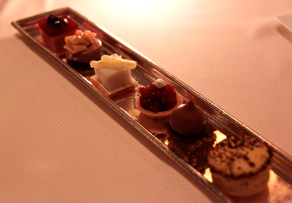 Intricate petit fours Daniel New York