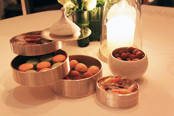 """Mignardises"" ~ truffles, boiled sweets, cupcakes, macarons and caramels"