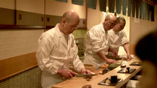 Jiro Ono at work