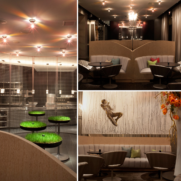 Interiors at The Aviary, Grant Achatz, Chicago