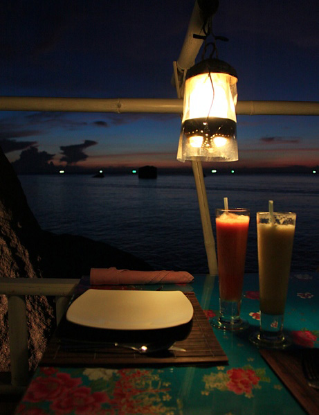 Starlight Restaurant, Koh Tao, Bamboo Hut, Charm Churee