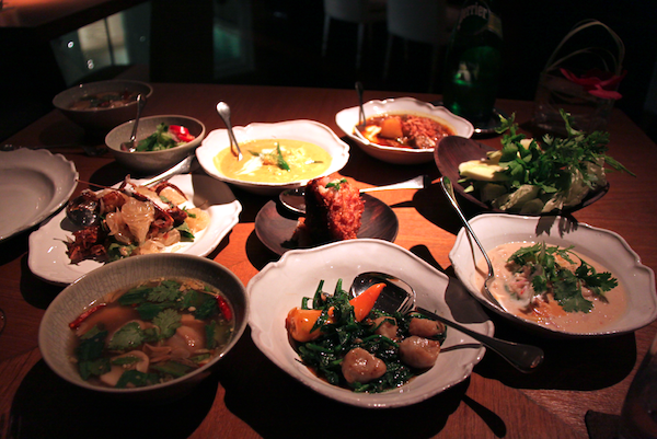 Nahm Bangkok and the impressive showcase of mains