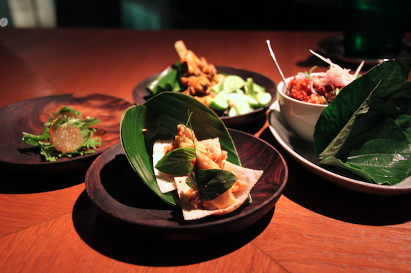 Nahm, canapes begging to be devoured