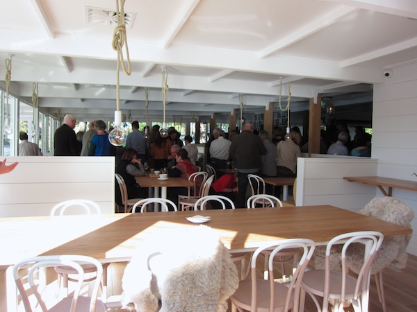 The launch of Wharf Road restaurant, Nowra
