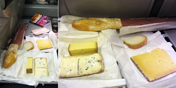 La Fromagerie, cheese, English, Paris, Eurostar, train, baguette, London