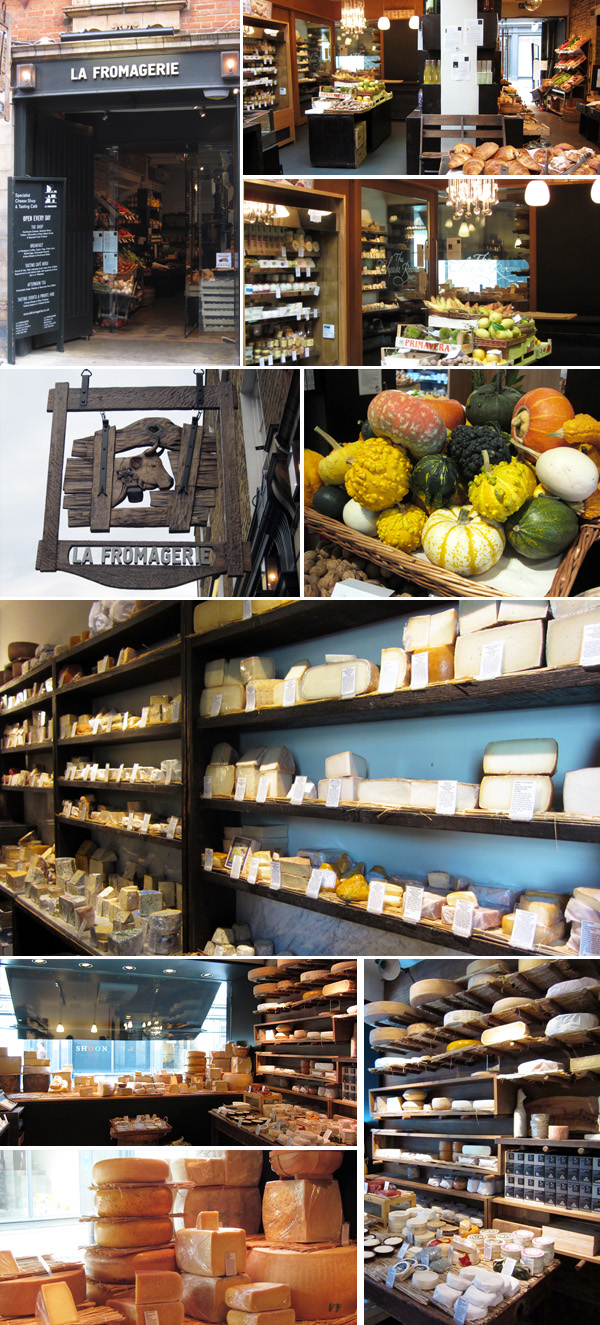 La Fromagerie Marylbone shop London cheese room
