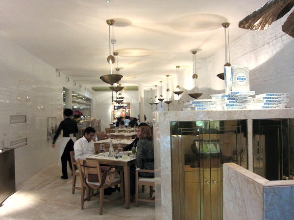 Nopi Dining room London Ottolenghi