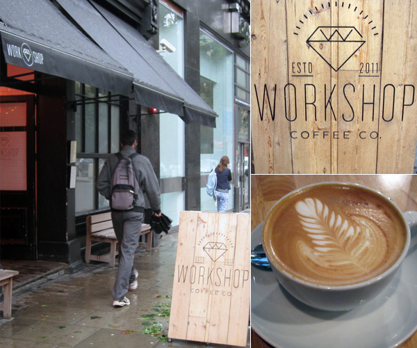 Workshop Coffee Co, Clerkenwell Road London