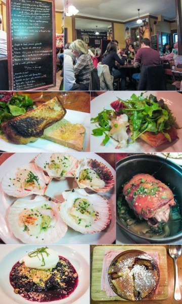 Chez Casimir, Paris, Gare du Nord, bistro, French,