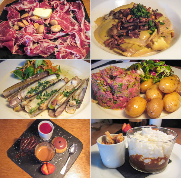 Glou, Paris, the Marais, bistro, cafe, tartare Aubrac