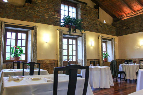 Etxebarri, main dining room, farmhouse