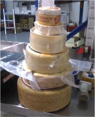 cheese tower wedding cake sydney how to plan a wedding in 3 months the gourmet forager 12585